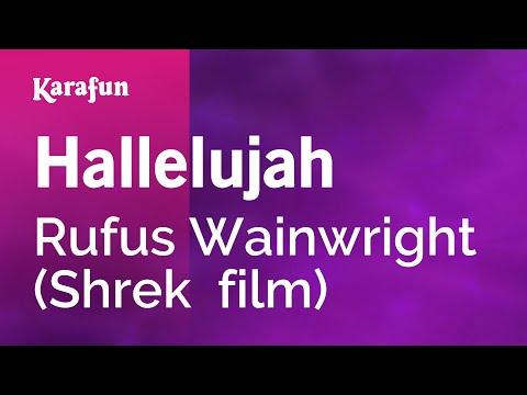 Karaoke Hallelujah (From Shrek movie soundtrack) - Rufus Wainwright *