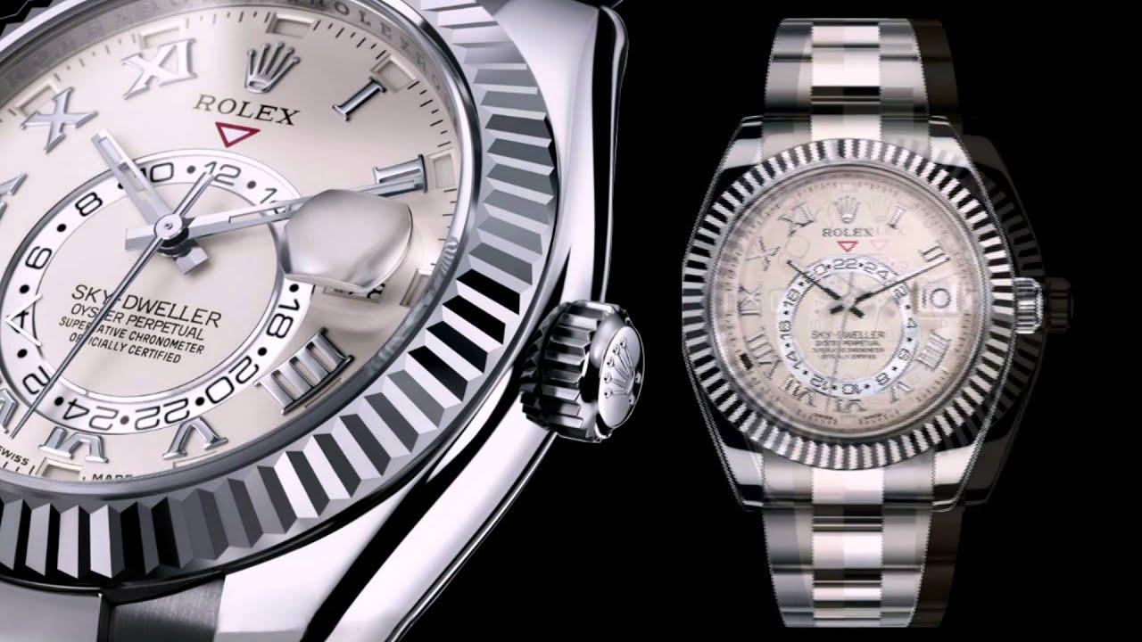 609fcaab30b5 Rolex Sky Dweller 2012 Basel New Rolex Sky Dweller Ref.326939 - YouTube