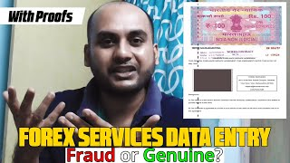 Forex Services Data Entry Jobs Fraud or Genuine? | Forex Services Data Entry Reviews | Forex Service