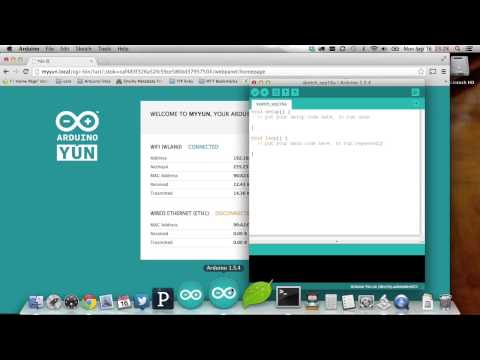 Getting Started With Arduino Yún - Tutorial