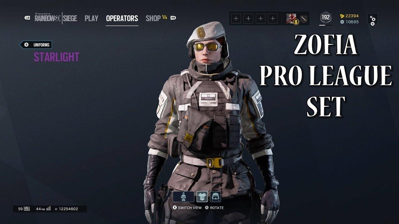Zofia Pro League Set - Rainbow Six Siege