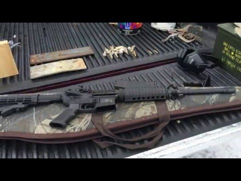 AR-15 Shooting Smith & Wesson M&P 15 Sport 2
