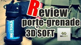 [Airsoft Français] Porte cyclone 3DSoft |  Système de lancer rapide de grenade