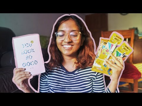 Mini Stationery Haul | Planner + Best Pens Ever 📓🖊️ // #MagaliVlogs