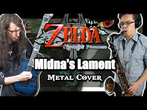 Twilight Princess MIDNA'S LAMENT || Metal Cover by ToxicxEternity & insaneintherainmusic