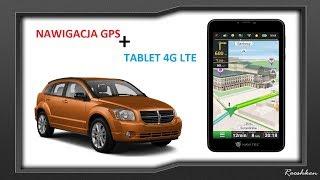 Navitel T757 LTE - Połączenie nawigacji GPS i tabletu