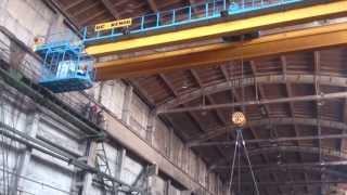 Кран мостовой двухбалочный опорный  г/п 20т.