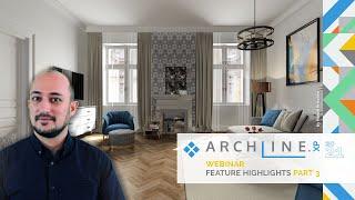 ARCHLine.XP 2021 Feature Highlights - Part 3