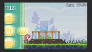 Angry Birds PS3 Mini Gameplay