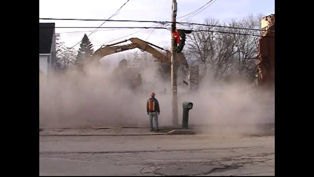 Meat Locker Demolition - Triller Video  12-22-11