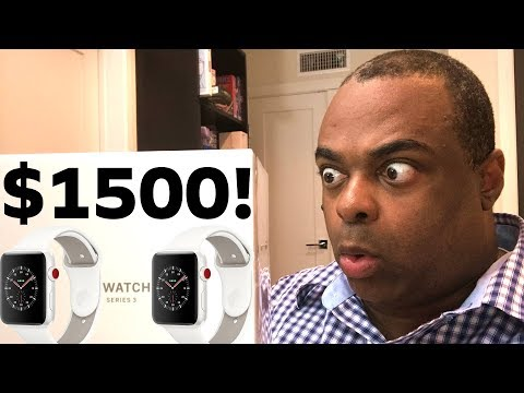 I PAID $1500 FOR THIS APPLE WATCH.