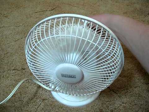 Home Essentials 6inch Oscillating Table Fan Youtube