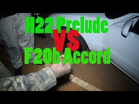 Motor For Motor! | H22 Prelude VS F20B Accord!