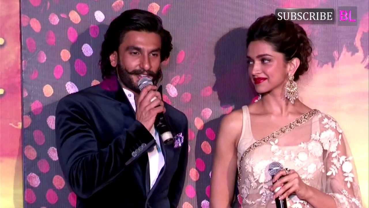 Ranveer Singh And Deepika Padukone 2014