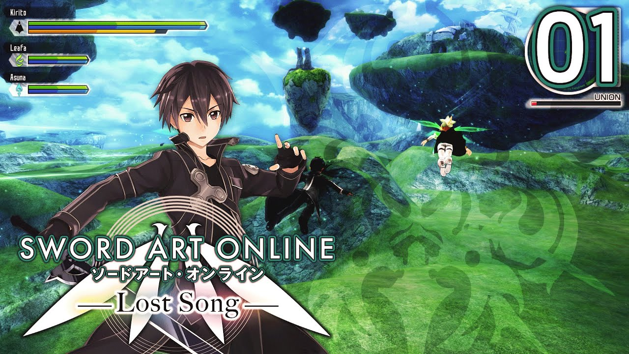 Sword Art Online Lost New Game Plus Episode 1 Logging