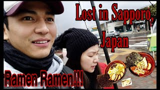 BIRTHDAY VLOG | LOST IN SAPPORO, JAPAN | RAMEN DAY 1