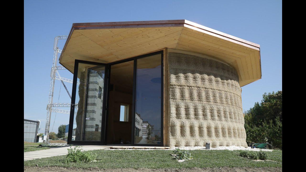 Costi Per Costruire Casa gaia   casa stampata 3d in terra cruda   crane wasp