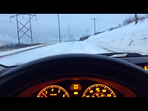 Driving in Snow with a Rear Wheel Drive (RWD) Car - Is it that Bad?