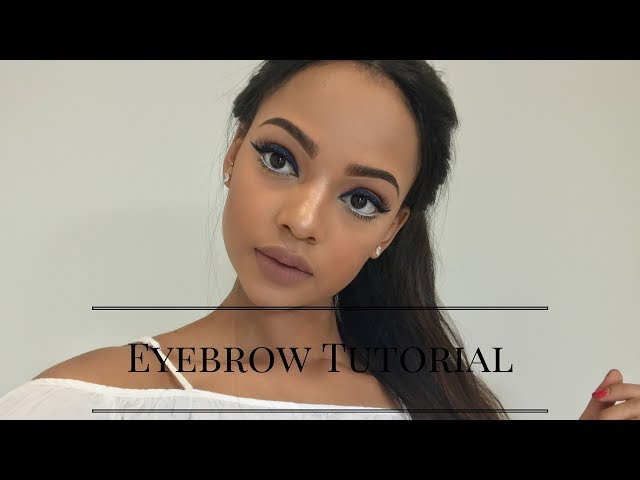 HOW TO: Fleek Your Brows | Beginner Friendly | MIHLALI N