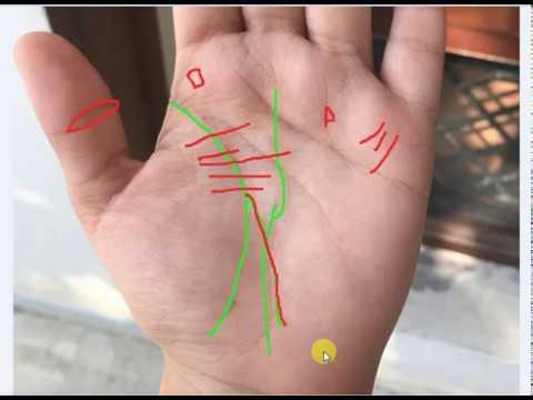 Writer's fork on female hand