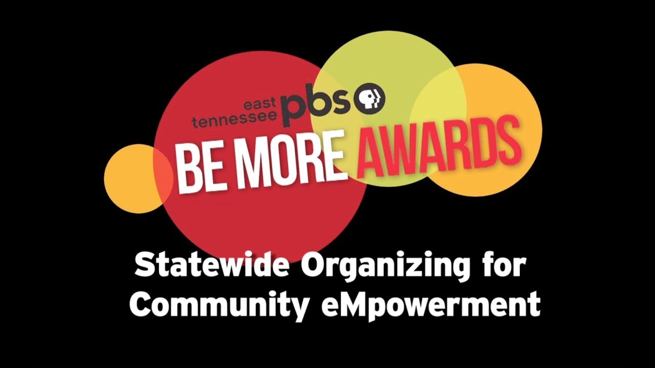 East Tennessee PBS Be More Award - SOCM