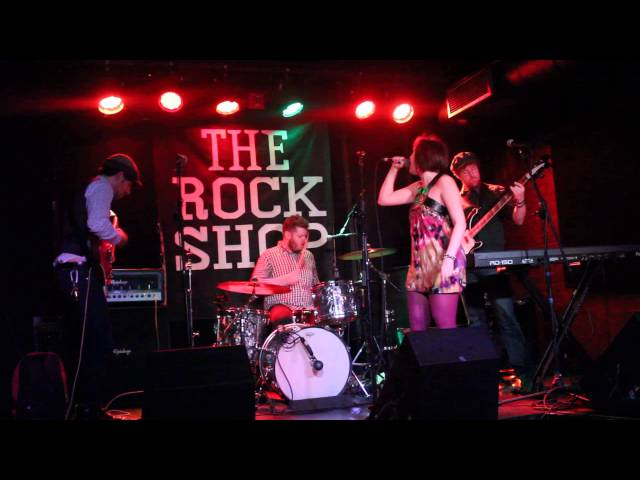 """Bree And The Whatevers """"Homewrecker"""" Live @The Rock Shop"""