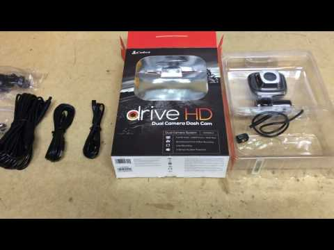 Cobra Dual Dash Camera Unboxing CDR 895D