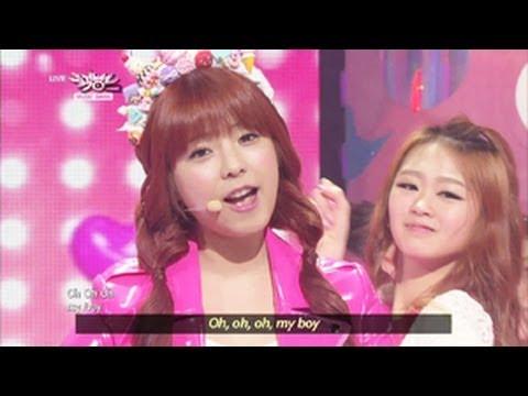 Juniel - Pretty Boy (2013.05.11) [Music Bank w/ Eng Lyrics]