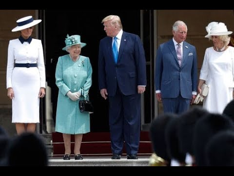President Donald Trump and the First Lady visit Westminster Abbey in London | USA TODAY