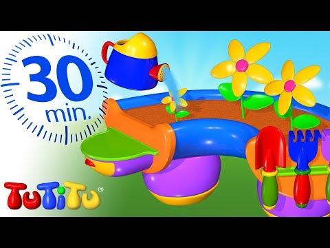 TuTiTu Português | Brinquedos Para Crianças Pequenas | Ferramentas De Jardinagem | 30 Minutos