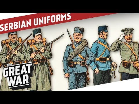 Serbian Uniforms of World War 1 I THE GREAT WAR Special