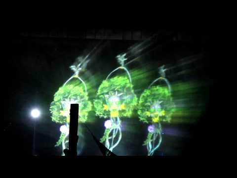 Laser Light Show at Manila Ocean Park