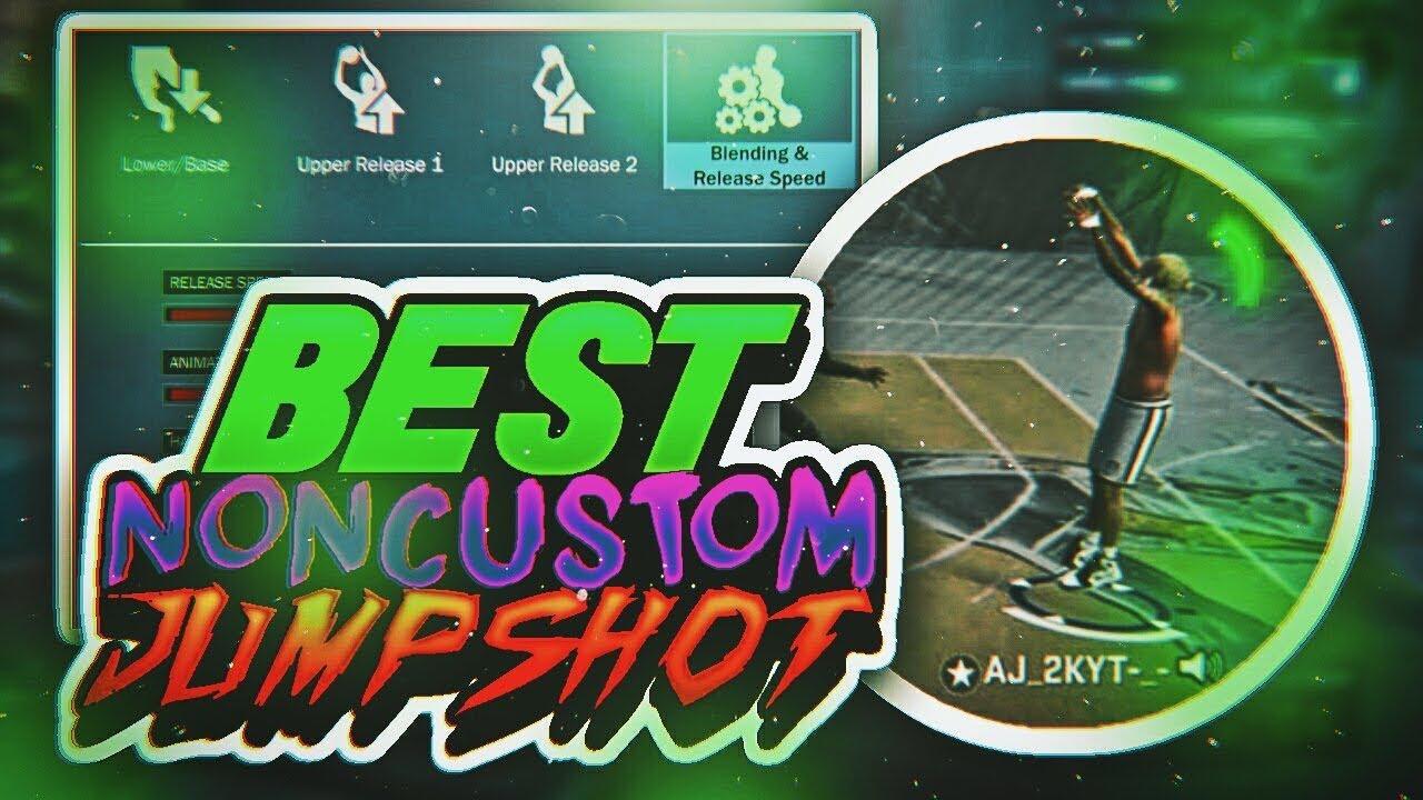 NBA 2K18 BEST NON CUSTOM JUMPSHOT!! THIS JUMPSHOT WILL BREAK 2K BEST NON  CUSTOM FOR ALL ARCHETYPES