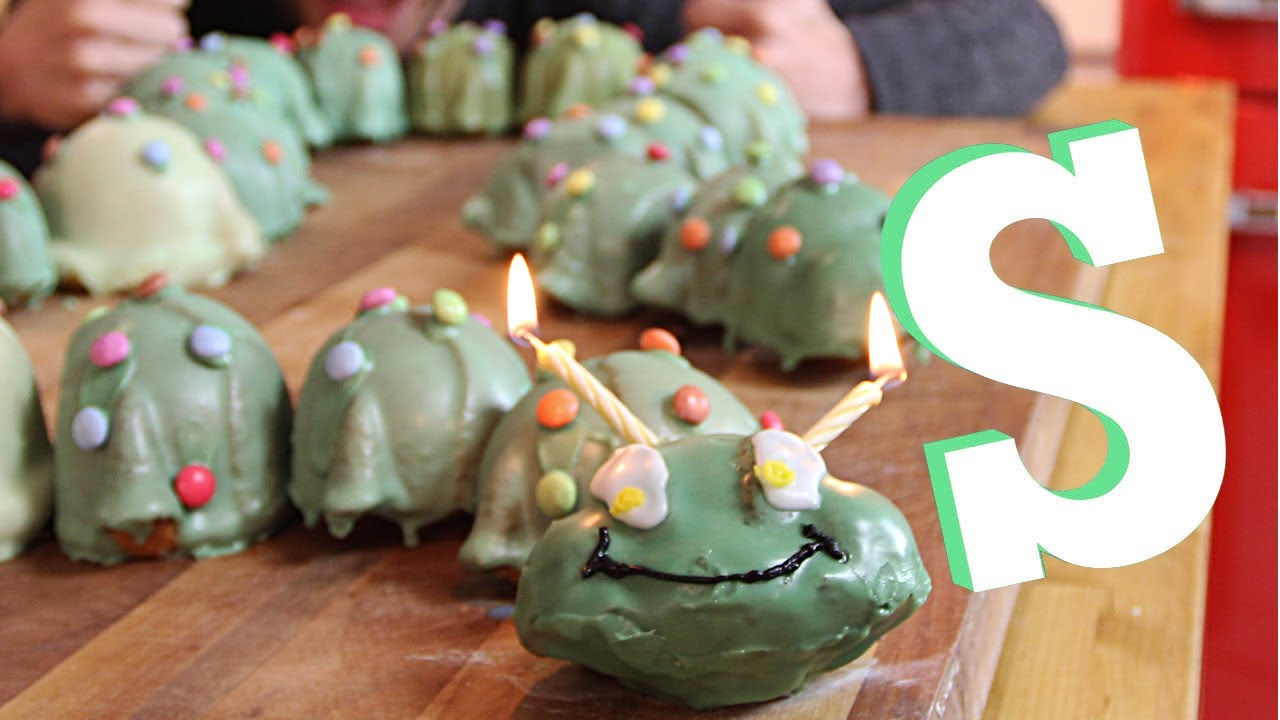 Giant Caterpillar Cake