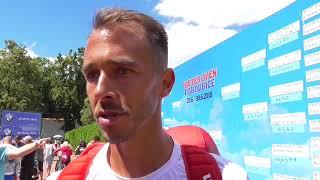 Lukáš Rosol po vítězství ve finále Rieter Open Pardubice 2018