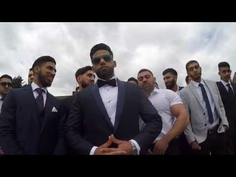Asian Wedding Walima Supercars | Zack Knight Live Performance | Ali & Sadhaf | Highlights 2016