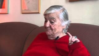 Interview Etel Adnan - Qui était Sitt Marie Rose ?