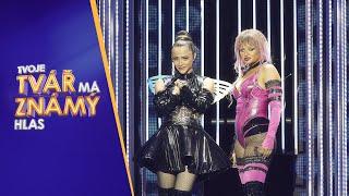 Erika Stárková & Eva Burešová jako Lady Gaga & Ariana Grande | Tvoje tvář má známý hlas