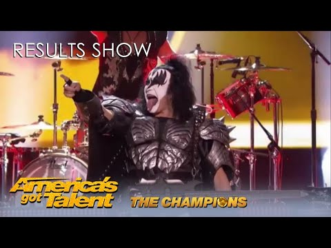 @America's Got Talent Finale Results Show EPIC Intro With KISS! Who Will Win?