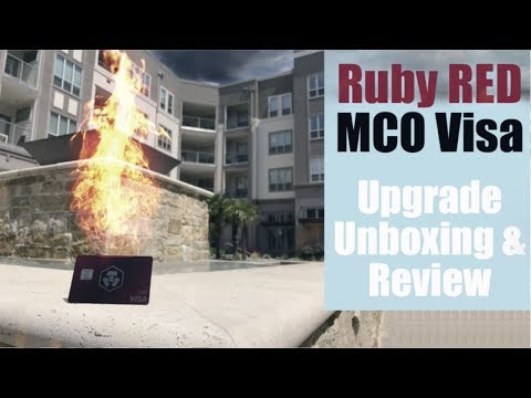 Ruby VISA Crypto.com (aka Monaco) Unboxing and Review — Why I STILL Love this Card