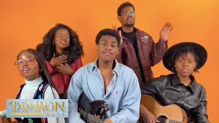 """Infinity Song Performs """"Mad Love"""" Live On """"Tamron Hall"""" 