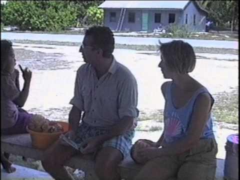 Kiritimati Kiribati 1988-1994 Bateau Fraternité