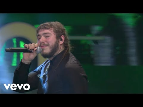 Post Malone - White Iverson / Congratulations (Live From iHeartRADIO MMVAs/2017)