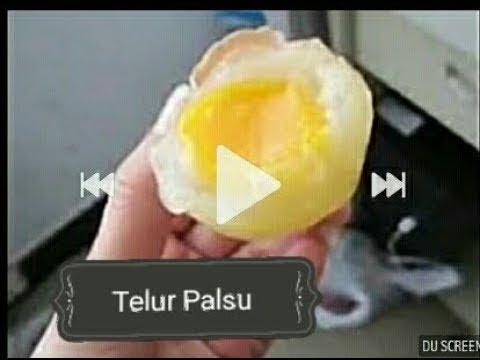 Hati-Hati!!! Beginilah Proses Pembuatan Telur Palsu di Cina