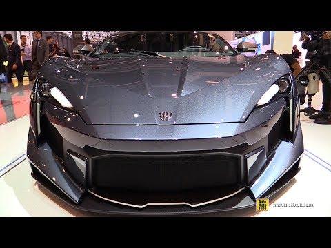 2018 Fenyr SuperSport 800hp 980nm Supercar – Exterior Interior Walkaround – 2018 Geneva Motor Show