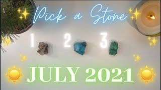 🏖🔮JULY 2021🔮🏖 Messages & Predictions✨ Pick a Card
