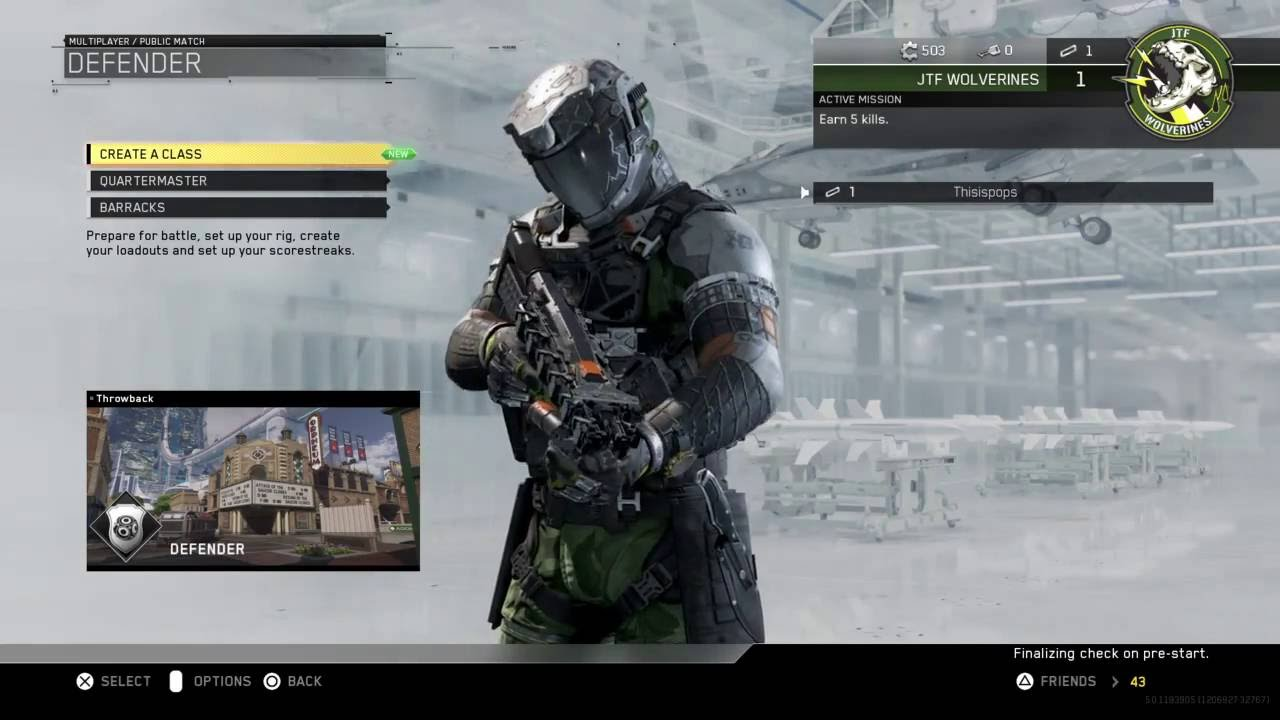 Advanced warfare matchmaking not working