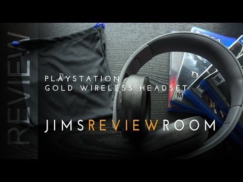 review playstation 4 gold wireless stereo headset doovi. Black Bedroom Furniture Sets. Home Design Ideas