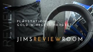 Playstation Gold Wireless Headset PS4 - REVIEW