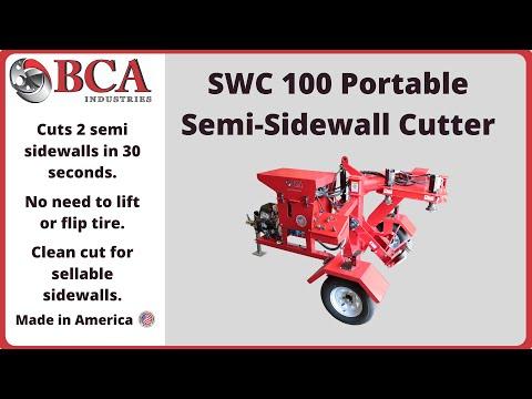 Semi Tire Sidewall
